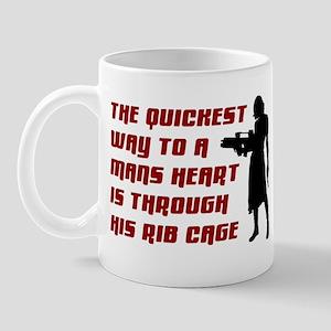 Funny Man Hater slogan on womens Mug
