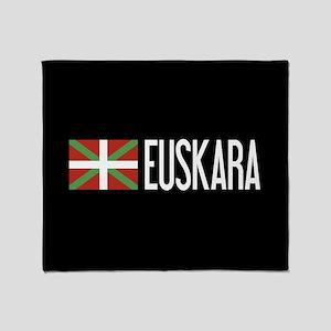 Basque Country: Basque Flag & Euskar Throw Blanket