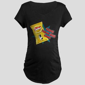Cropped Mantle Dane VS Chips Maternity Dark T-Shir