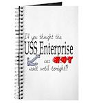 Navy USS Enterprise was hot Journal