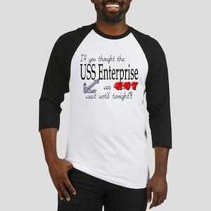 Navy USS Enterprise was hot Baseball Jersey