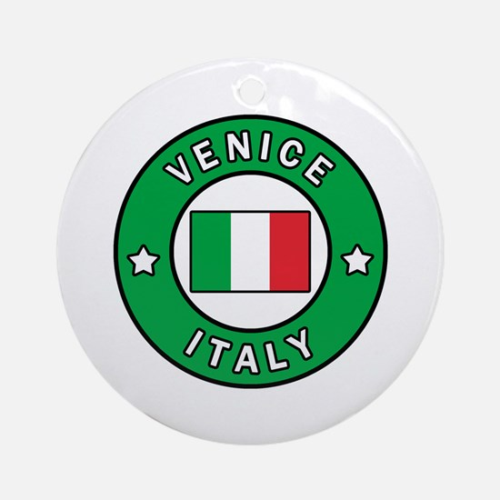 Cute Veneto Round Ornament