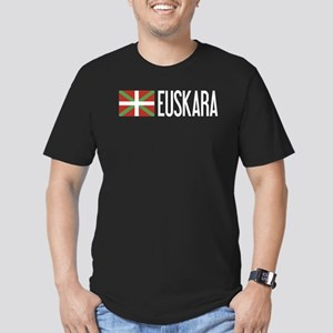 Basque Country: Basque Men's Fitted T-Shirt (dark)