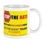 """Stop The Hate"" Coffee Mugs"