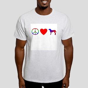Peace Love Greater Swiss Light T-Shirt