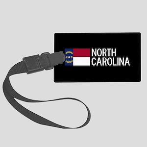North Carolina: North Carolinian Large Luggage Tag