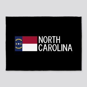North Carolina: North Carolinian Fl 5'x7'Area Rug