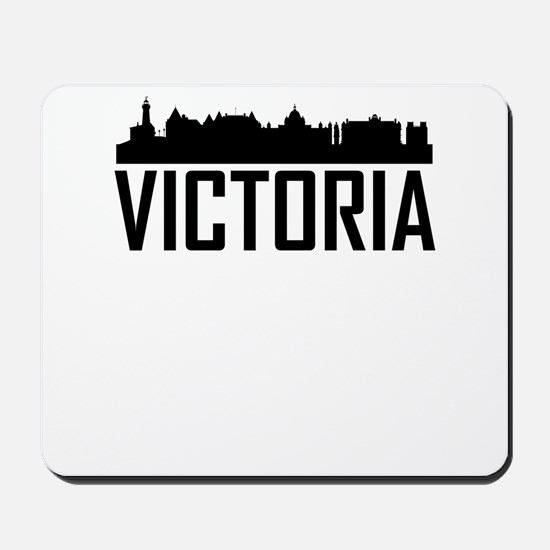 Skyline of Victoria BC Mousepad