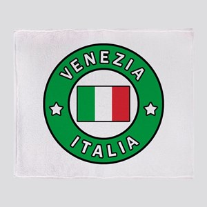 Venezia Italy Throw Blanket