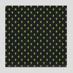 ZOMBIE HANDS Tile Coaster