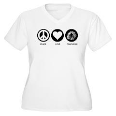 Peace Love Porcupine T-Shirt