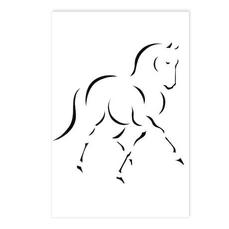 Elegant Horse Postcards (Package of 8)