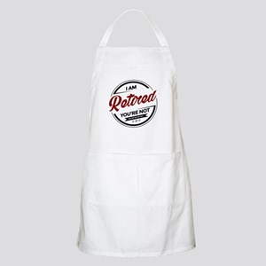 I'm Retired You're Not Light Apron