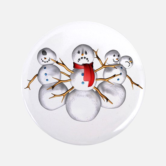 """Snow Monsters 3.5"""" Button (100 pack)"""