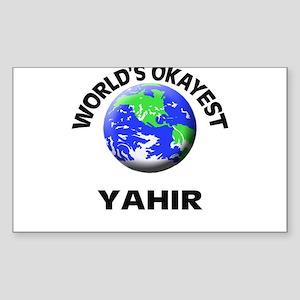 World's Okayest Yahir Sticker