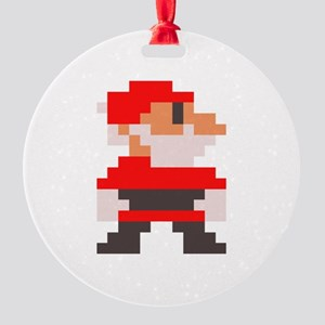 santa bros. Round Ornament