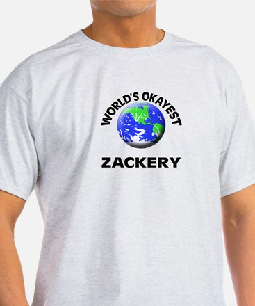 World's Okayest Zackery T-Shirt
