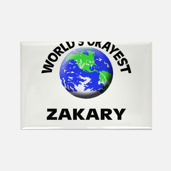 World's Okayest Zakary Magnets