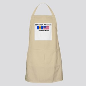 Barbadian American-The Best K BBQ Apron