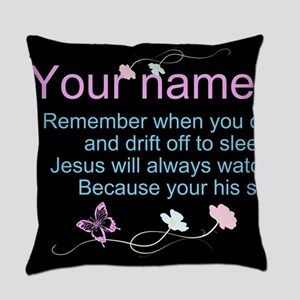 Personalize His Sheep Everyday Pillow
