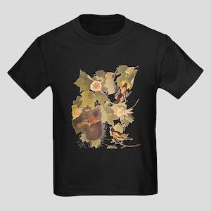 Baltimore Oriole Birds with Nest Audubon V T-Shirt