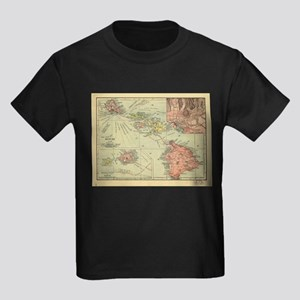 Vintage Map of Hawaii (1912) T-Shirt