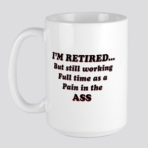 Retired Large Mug