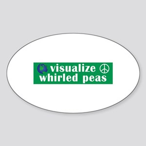 Visualize Whirled Peas Sticker