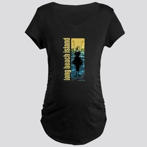 By the Water... Maternity Dark T-Shirt