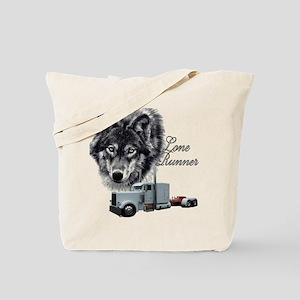 Lone Runner Tote Bag