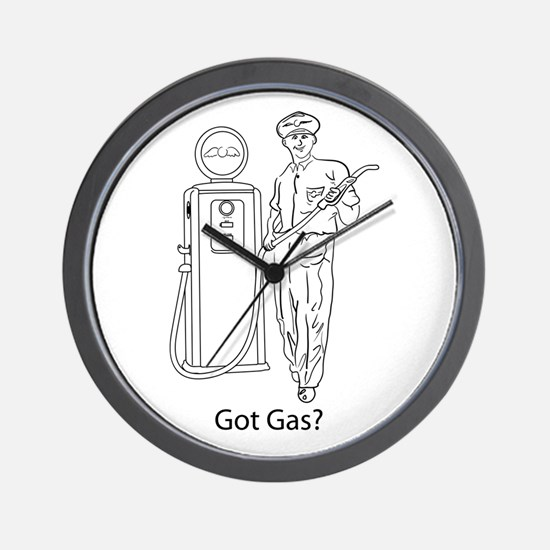 Got Gas? Wall Clock
