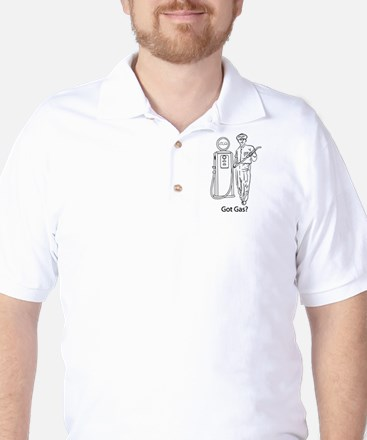 Got Gas? Golf Shirt