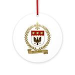 JEANSONNE Family Crest Ornament (Round)