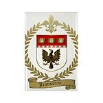 JEANSONNE Family Crest Rectangle Magnet (100 pack)
