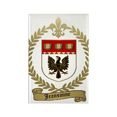 JEANSONNE Family Crest Rectangle Magnet