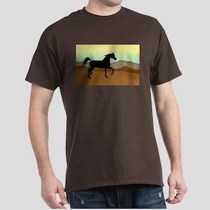 Desert Arabian Horse Dark T-Shirt