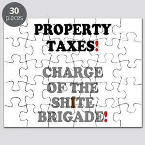 PROPERTY TAXES - CHARGE OF THE SHITE BRIGAD Puzzle