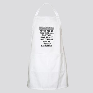 AFTER ALL OF THIS (NEW FONT) Apron