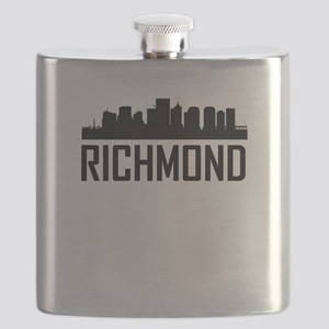Skyline of Richmond VA Flask