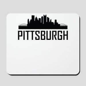 Skyline of Pittsburgh PA Mousepad