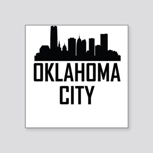 Skyline of Oklahoma City OK Sticker