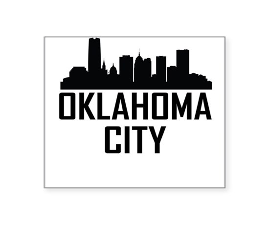 Oklahoma outline car accessories auto stickers license plates custom vinyl decals oklahoma city
