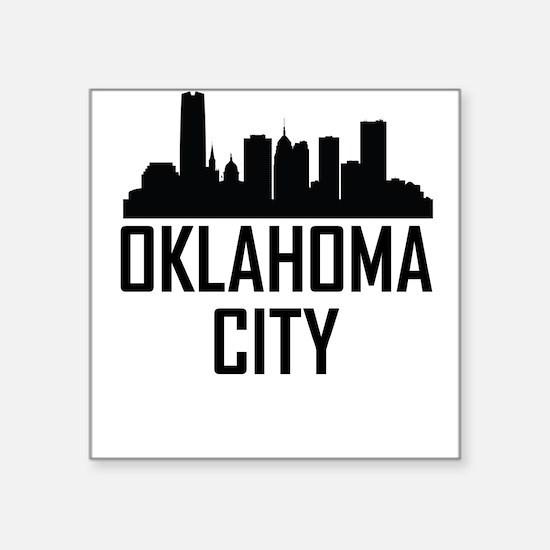 Skyline of Oklahoma City OK Sticker