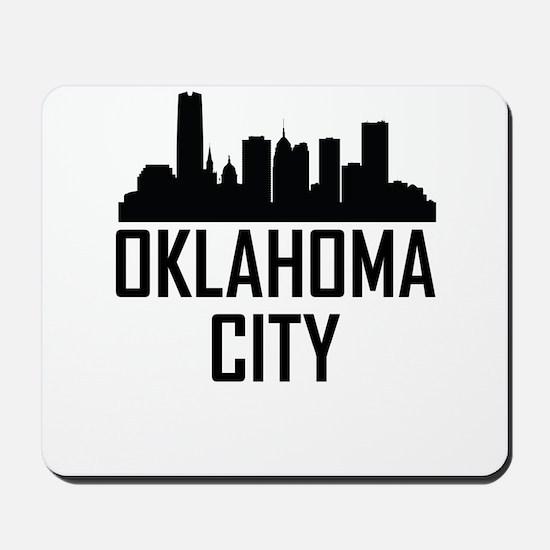Skyline of Oklahoma City OK Mousepad