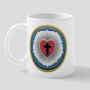 Lutheran Rose Mug