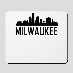 Skyline of Milwaukee WI Mousepad