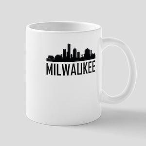 Skyline of Milwaukee WI Mugs