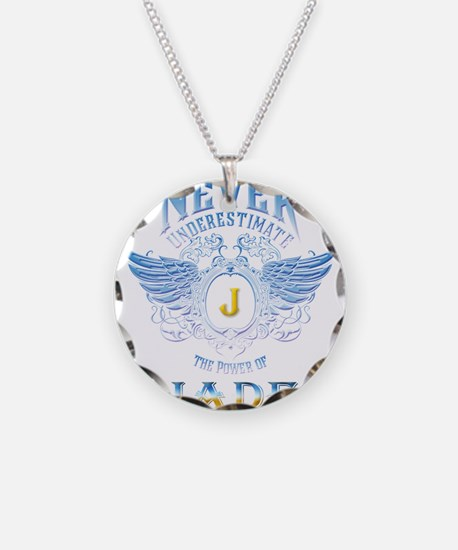 Nerver underestimate the pow Necklace