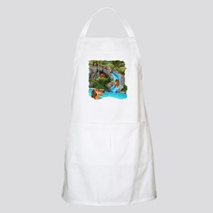 Summer Water Dachshunds Dogs BBQ Apron