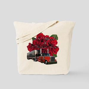 18 Wheels & A Dozen Roses Tote Bag
